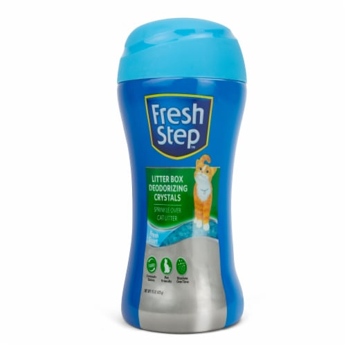 Fresh Step Litter Box Fresh Scent Crystals Perspective: front