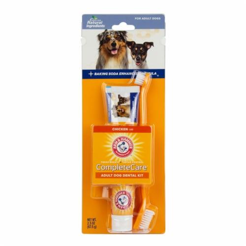 Arm & Hammer Complete Care Adult Dog Dental Kit Perspective: front