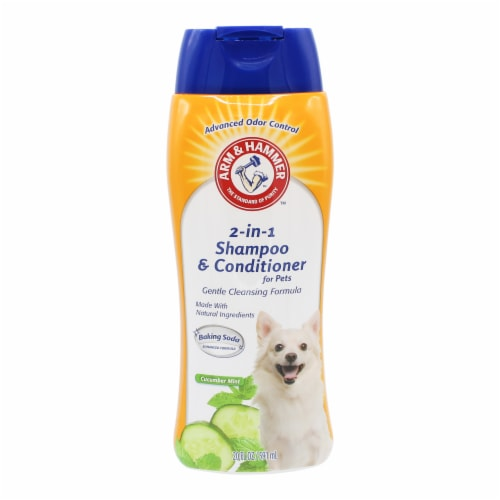 Arm & Hammer Cucumber Mint 2-in-1 Pet Shampoo & Conditioner Perspective: front
