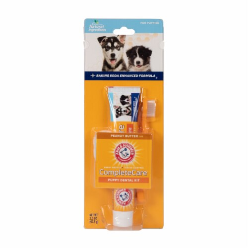 Arm & Hammer CompleteCare Puppy Dental Kit Perspective: front