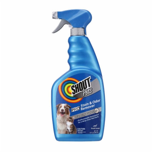 Shout Pets Pro Odor & Stain Remover Perspective: front