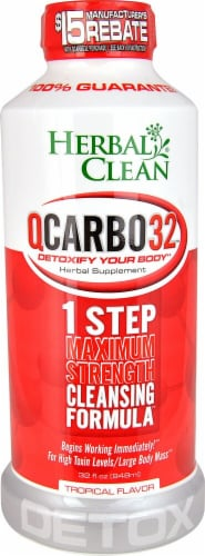 Herbal Clean  QCarbo32™  Tropical Perspective: front