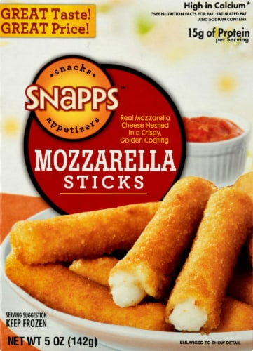 Snapps Cheese Sticks Perspective: front