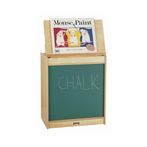 Jonti-Craft 0542JC BIG BOOK EASEL - CHALKBOARD Perspective: front