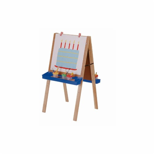 Jonti-Craft 2181JC PRIMARY ADJUSTABLE EASEL Perspective: front