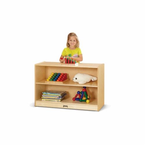 Jonti-Craft 0523JC Short Fixed Straight Shelf Bookcase Perspective: front