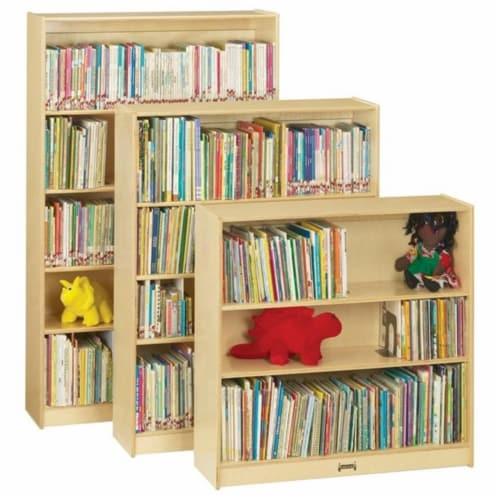 Jonti-Craft 0970JC Short Bookcase Perspective: front