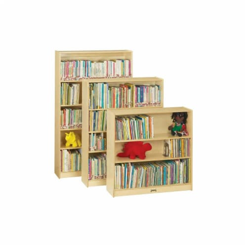 Jonti-Craft 0972JC Tall Bookcase Perspective: front