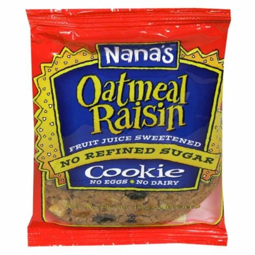 Nana's Oatmeal Raisin Cookie Perspective: front