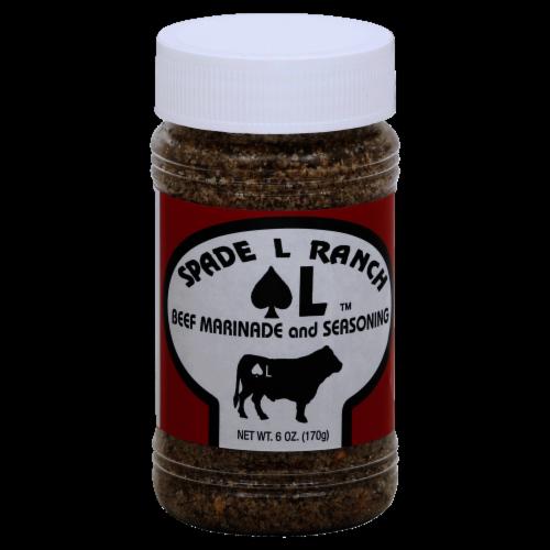 Spade L Ranch Beef Marinade and Seasoning Perspective: front