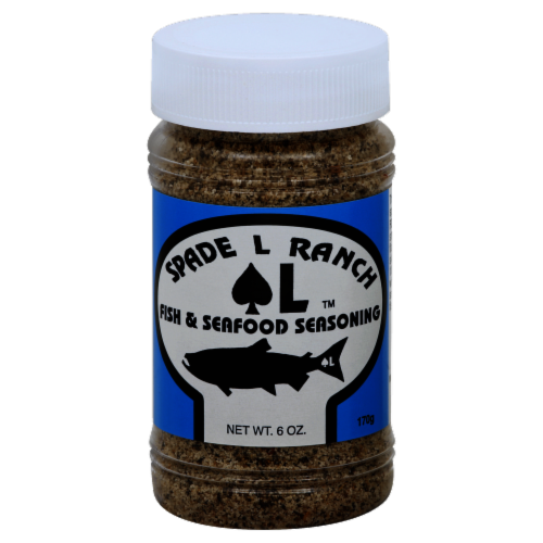 Spade L Ranch Fish and Seafood Seasoning Perspective: front
