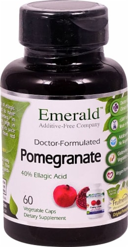 Emerald Labs  Pomegranate Perspective: front