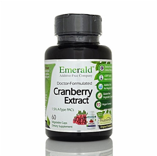 Fruitients  Cranberry Extract Perspective: front