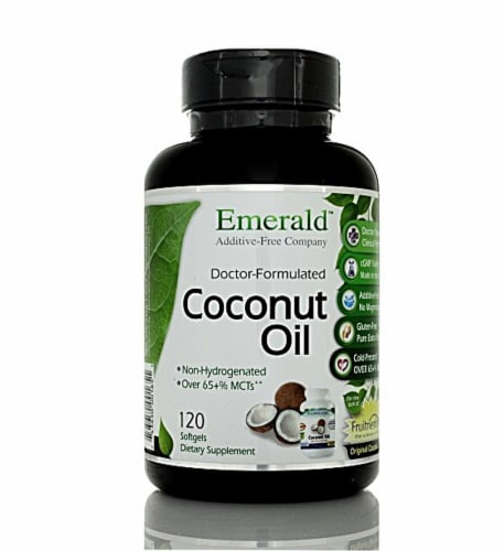 Fruitients  Coconut Oil Perspective: front