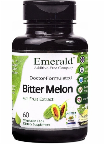 Emerald Labs  Bitter Melon 4:1 Fruit Extract Perspective: front