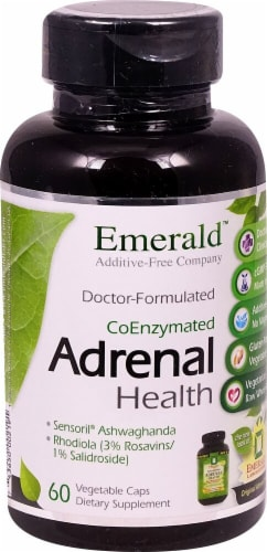 Emerald Labs  CoEnzymated Adrenal Health Perspective: front