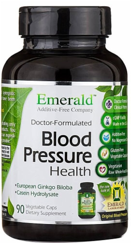 Emerald Labs  Blood Pressure Health Perspective: front