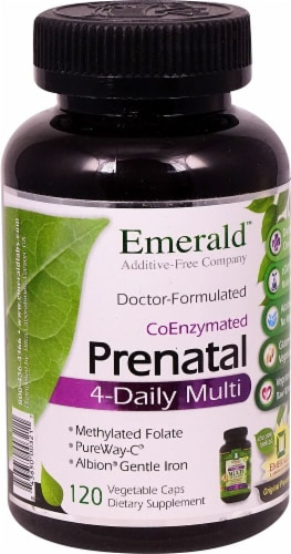 Emerald Labs  Prenatal 4-Daily Multi Perspective: front