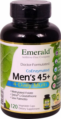Emerald Labs  Men's 45 plus 4-Daily Multi Perspective: front