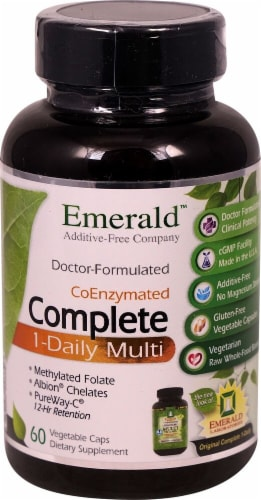 Emerald Labs  1- Daily Complete Multi Vitamin Perspective: front
