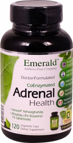 Emerald Labs  Adrenal Health Perspective: front