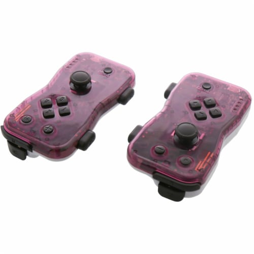 Nyko 87269 Dualies for Nintendo Switch - Purple/White Perspective: front