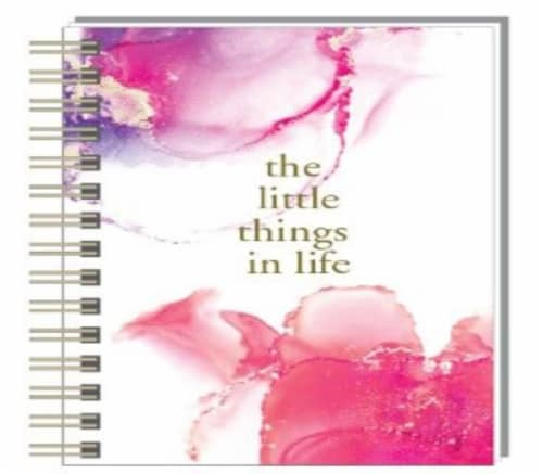 PlanAhead Twin Wire Daily Task Journal Perspective: front