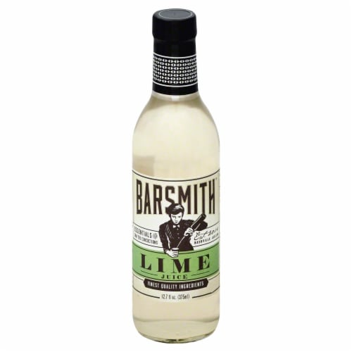 Barsmith Lime Juice Perspective: front