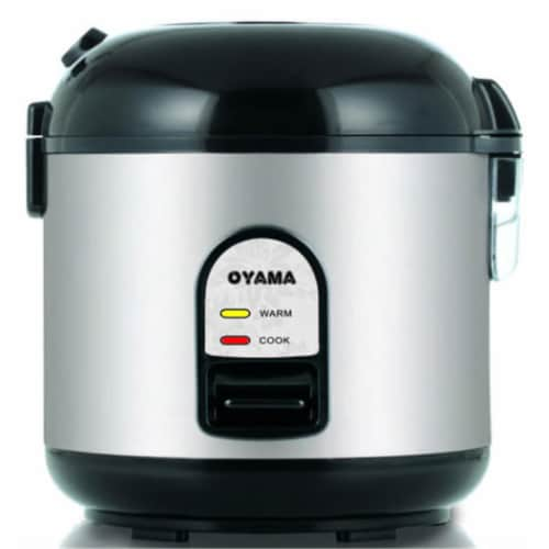 Oyama CFS-F10B Healthy Cooker Perspective: front