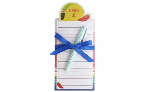 Lady Jayne Die Cut Note Pad/Pen Taco Perspective: front