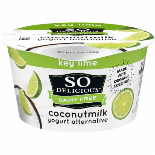 SO Delicious Dairy-Free Coconut Milk Key Lime Yogurt Alternative Perspective: front