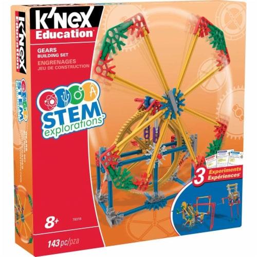 K'NEX Education STEM EXPLORATIONS: Gears Building Set Building Kit Perspective: front