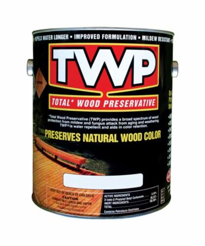 TWP Dark Oak Alkyd Wood Preservative 1 gal. - Case Of: 4 Perspective: front