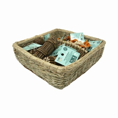 Oxbow 73296344 Small Animal Enriched Life Rings Willow Basket Perspective: front