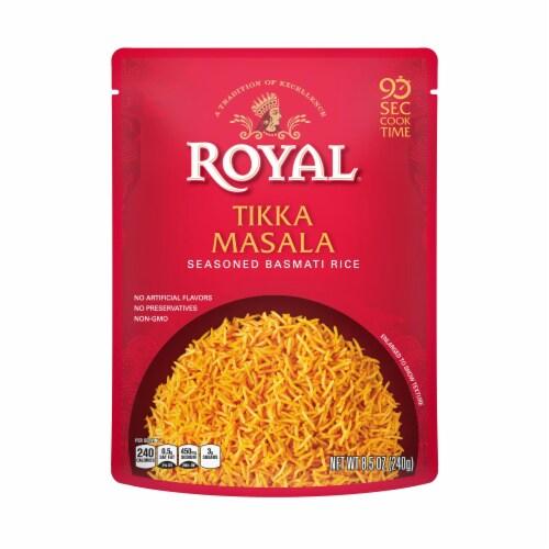 Royal Tikka Masala Seasoned Basmati Rice Perspective: front
