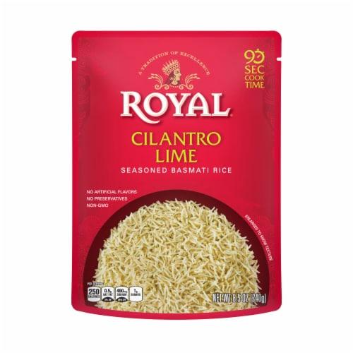 Royal Cilantro Lime Seasoned Basmati Rice Perspective: front