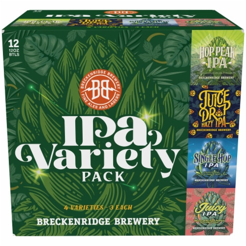 Breckenridge Brewery IPA Variety Pack Perspective: front