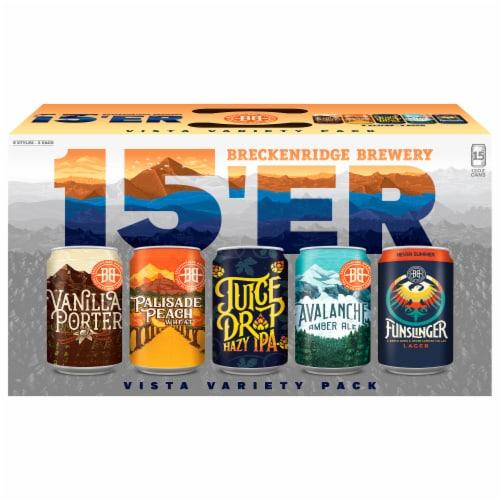 Breckenridge Brewery Vista Beer Variety Pack Perspective: front
