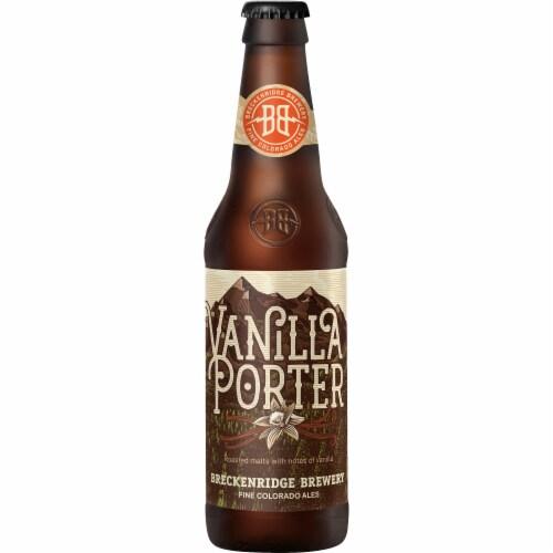 Breckenridge Brewery Vanilla Porter Perspective: front