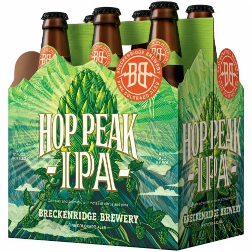 Breckenridge Brewery Hop Peak IPA Perspective: front