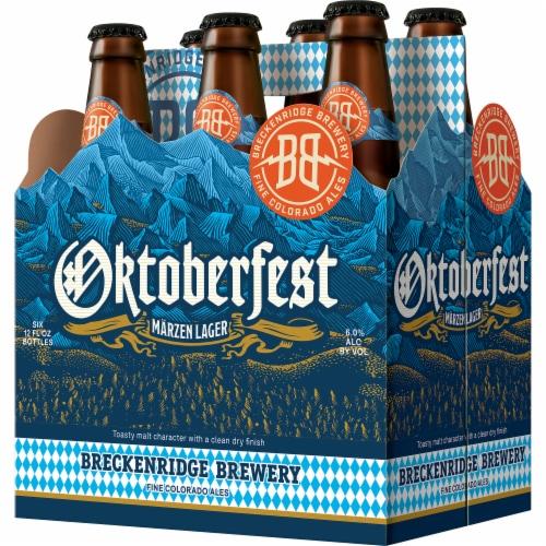 Breckenridge Brewery Marzen Lager Oktoberfest Beer Perspective: front