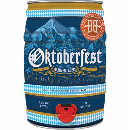 Breckenridge Brewery Oktoberfest Marzen Lager Perspective: front
