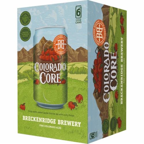 Breckenridge Brewery Colorado Core Beer Perspective: front