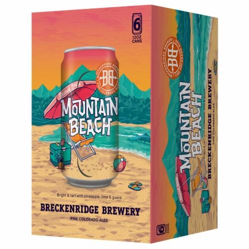 Breckenridge Brewery Mountain Beach Colorado Ale Perspective: front