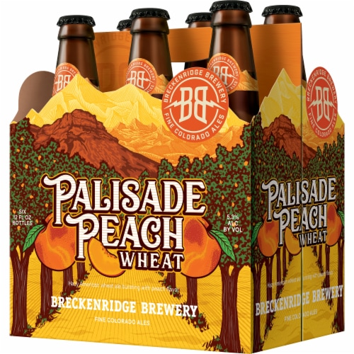 Breckenridge Brewery Palisade Peach Wheat Ale Perspective: front