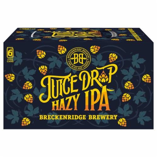 Breckenridge Brewery Juice Drop Hazy IPA Perspective: front