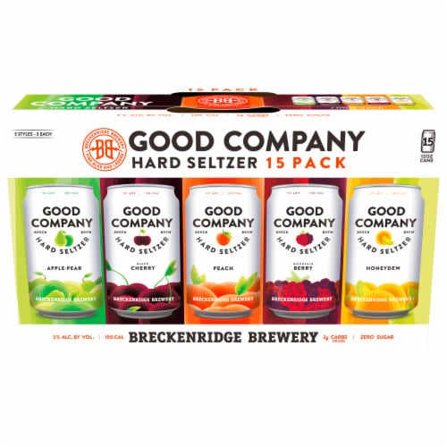 Breckenridge Brewery Good Company Hard Seltzer Variety Pack Perspective: front