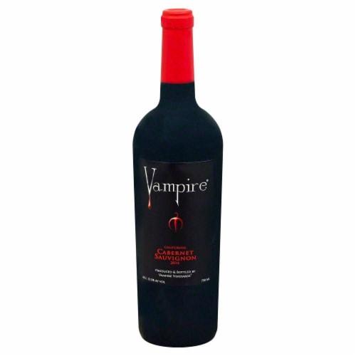 Vampire Vineyards Cabernet Sauvignon Perspective: front