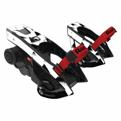 MightySkins RATUJE-Black Hills Skin for Razor Turbo Jetts Electric Heel Wheels - Black Hills Perspective: front