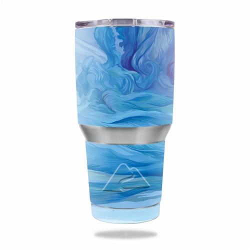 MightySkins OZTUM30-Cell Phone Towers Skin for Ozark Trail 30 oz Tumbler - Cell Phone Towers Perspective: front